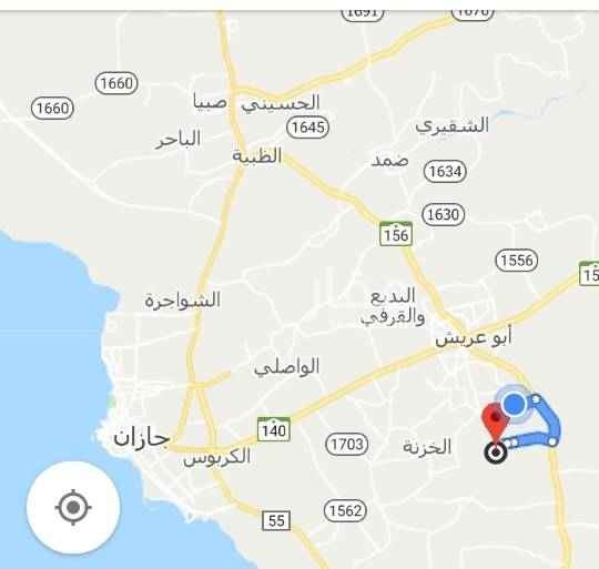 1681055 مزرعه بصك بها بيت شعبي واحواش وحديقه وبير والكهرباء واصله