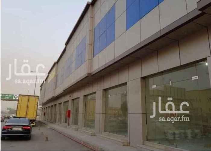 1799339 عمارة تجارية عبارة عن ١٠ محلات - المحل دورين(ميزان) الواجهة كلادينق وقزاز.