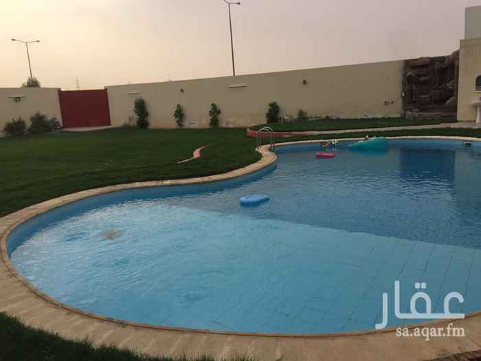 1556562 استراحة عائلية للايجار فترة العيد لمدة ٥ ايام كاملة ٦٥٠٠ ريال فقط في حي حطين الراقي.