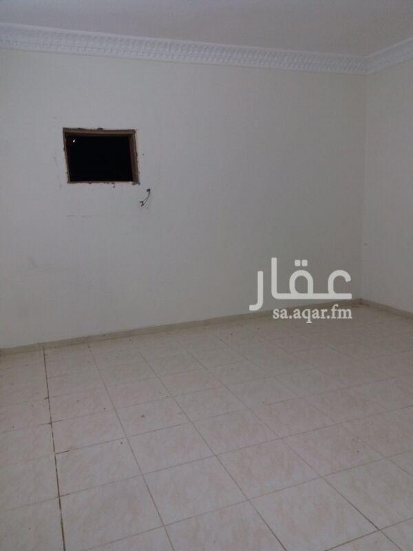 1229967 شقة دور ثاني ثلاثة غرف وصالة  خلف العثيم الإيجار 1400ريال شهري