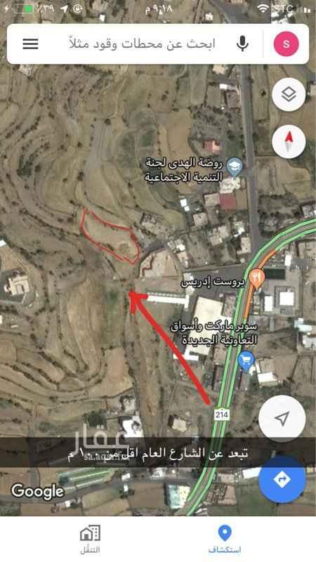 1709922 ارض بصك شرعي تبعد عن الشارع العام با اقل من ١٠٠ م