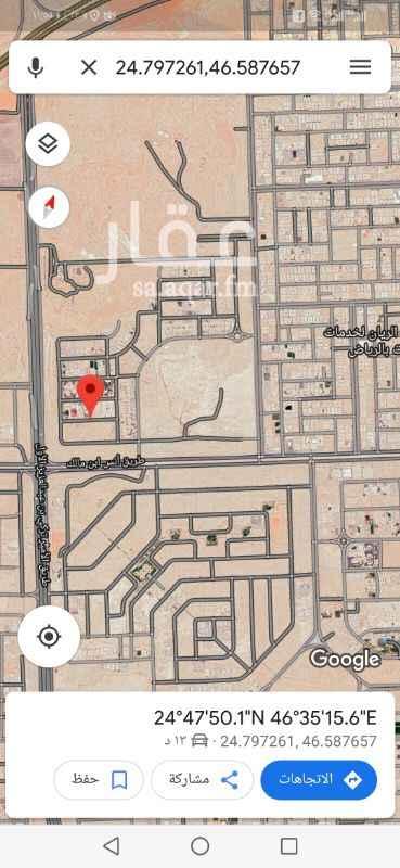 1718416 للبيع قطعتين ارض في حي الملقا نجد حي راقي   مساحه ٥٢٥ م  شارع ١٨ شمالي   الاطول ١٥*٣٥   البيع أن شاء الله ٣٣٥٠   مع المباشر