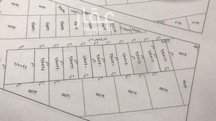 1719773 للبيع ارضى سكنيه  حى الياسمين مربع 10 المساحات 360م  الاطوال 30 * 12 شارع 15م شمالى سوم 2450 بيع 2600 حد  مباشر مع الوكيل