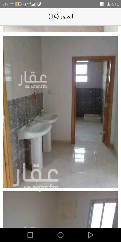 1466166 شقة حي الرياض جزء هاء جده، مدخلين وباب بين الصالة والمجلس اربع غرف وسيعة منها غرفة بحمام باب خاص وصاله وسيعة وثلاث حمامات ومطبخ وسيع. للوقوف على العقار 0534412339