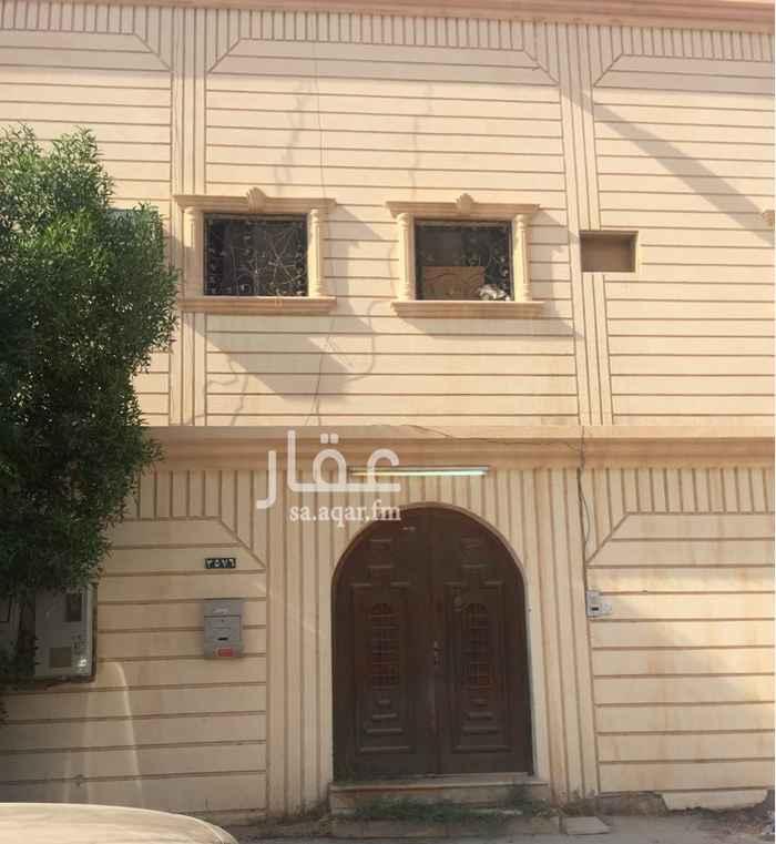1705548 عماره للبيع دور وشقتين عليها سوم ٥٥٠٠٠٠الف من غيرالبنك ٢٧٠٠٠٠الف حي طويق غرب الرياض