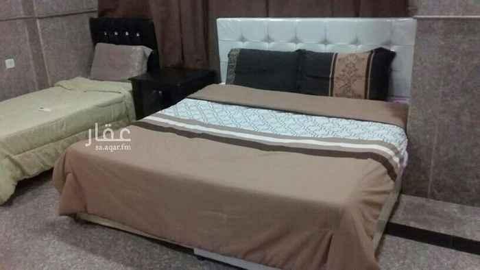 1727763 شقة مفروش للايجار حي الشرفيه غرفه وصاله ومطبخ وحمام