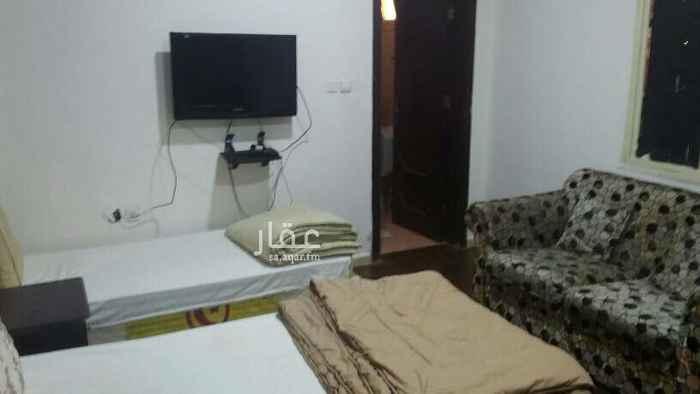 1751728 استديو مفروش للايجار مكون من غرفه وحمام فقط  حي الشرفيه شامل كهرباء ومياه وانترنت