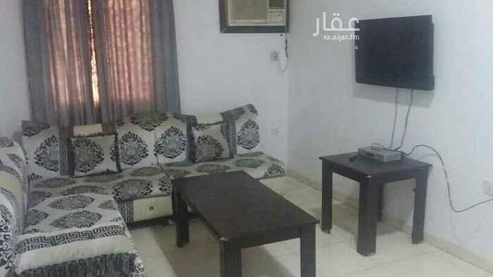 1762566 شقة مفروش للايجار من غرفتين نوم وصاله ومطبخ وحمام شامل كل شي