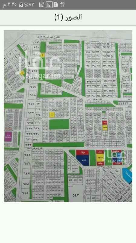 1422546 للبيع ارض في مخطط 99 (  أ   ) مساحه 900شارع 16شرقي وحديقه ممر جنوبي مربعة 30 في 30 مطلوب 600الف 0534897668