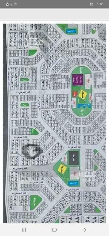 1525193 للبيع ارض في مخطط الضاحيه الجزء   (   أ    ) مساحه ٤٠٠ شارعين ١٥ و١٠ مطلوب ٣٠٠الف