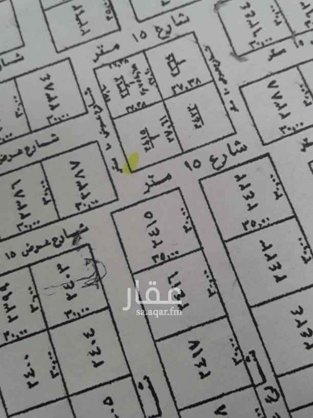 1762240 للبيع قطعة ارض سكني شمالية شارع ١٠غربية شارع ١٥