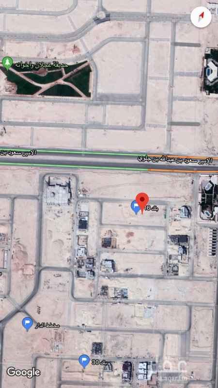 1467484 قطعة ارض سكنية  بحي القيروان ( مخطط الدار )   المساحة؛  624 م   الواجهة؛ شمالية شارع 20   الأطوال ؛ عرض 24 م ، عمق 26 م   السعر ؛ 2350   و الله الموفق