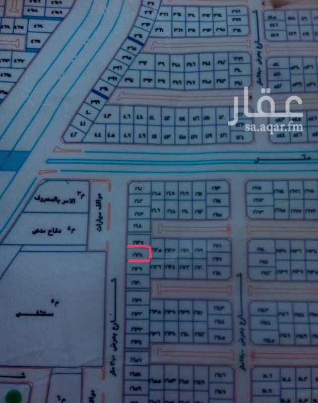 1043467 ارض تجارية بجوار مرافق حكومية في ضاحية العرفا  0535626204