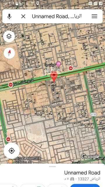 1693063 للبيع قطعة  ارض سكني في النرجس في الكيلو الثالث الغربي    مساحة ٤٤٠م    شارع ١٥شمالي   الاطوال ٢٠×٢٢  البيع ٢١٠٠