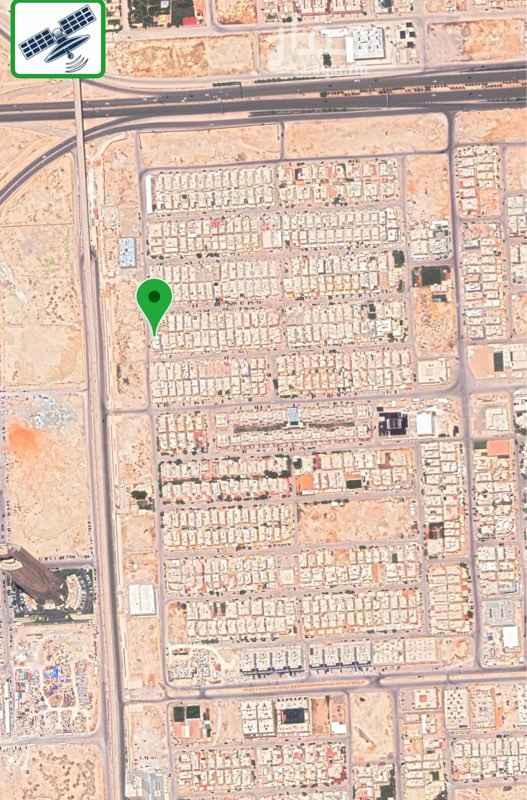 1760458 ارض بحي الياسمين مربع 25 اتجاه غربي شارع 15 مساحة 304 م ابعادها 25*12 رقم القطعة 2/754 من المخطط رقم 3114 ع السوم  مباشر