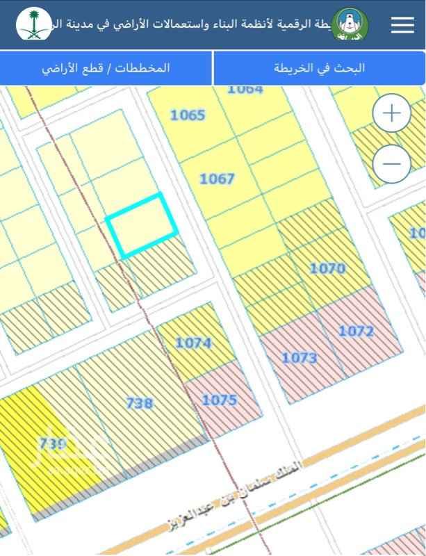 1759610 أرض سكنية بحي القيروان مساحة 540 م شارع 15 شرقي ( نافذ من الملك سلمان ) الاطوال 20 على الواجهة وعمق 27  السوم 2750 للمتر  مباشر