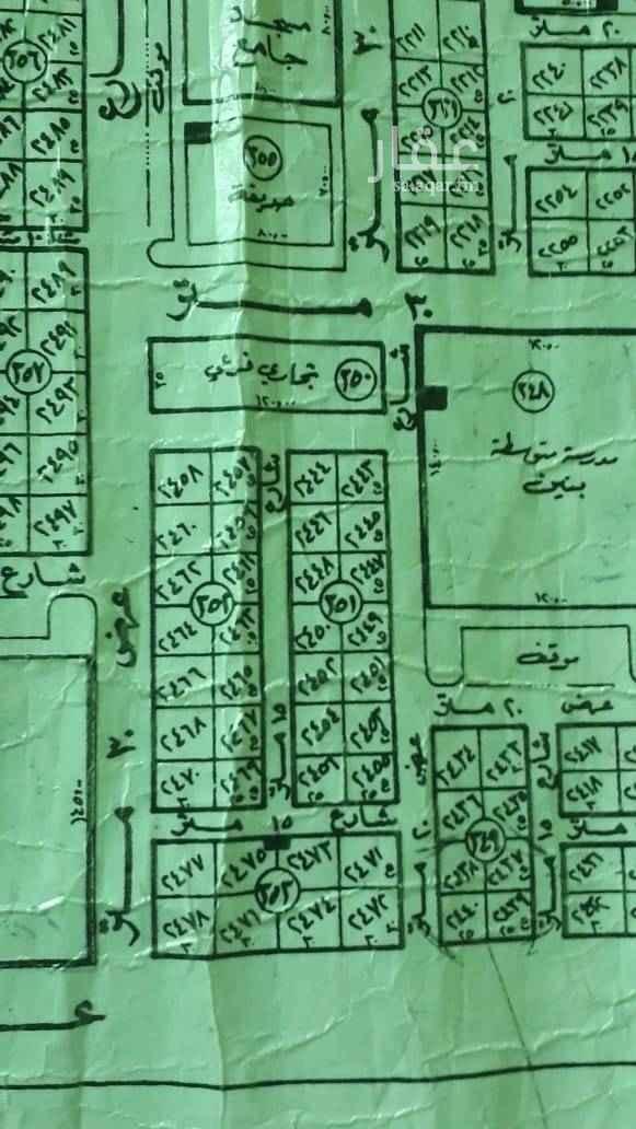 1735708 للبيع شريط سكنى فى حى بدر (ا) مساحة ٤٣٧٥ الاطوال ١٧٥ فى ٢٥ البيع كامل او مفرق ٢٣٠٠ مباشر