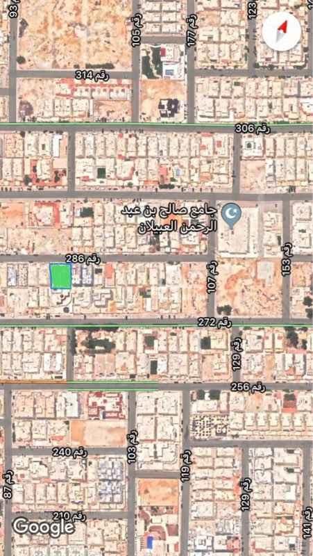1763387 للبيع ارض بحي الياسمين   الاطوال ٢٦* ٢٨   شماليه شارع ١٥   البيع ٢٥٠٠ غير الضريبه  البيع علي الشور