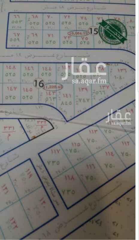 1686418 للبيع أرض سكنية فى  الرحاب ( مخطط البساتين حي امني نموذجي ) المساحة ٧٢٠ م  شارع ١٨ غربي  بها نصف غرفة كهرب   البيع ٢٢٠٠ ريال شامل الضريبة