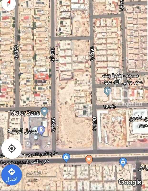 1690854 للبيع ارض سكنية في حي الياسمين مربع ( ١٦ ) جنوب انس ابن مالك المساحة : ٧٥٠ الأطوال : ٣٠*٢٥ الواجهه : غربية الشارع : ٢٠   على السوم