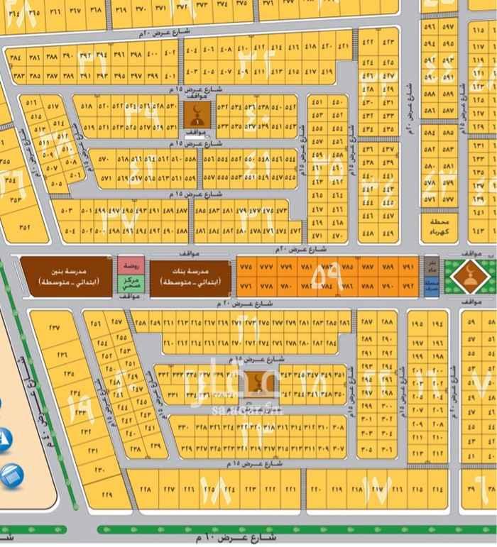 1704959 للبيع ٣ اراضي بلك ١٨ موضحة بالصورة  المتر ١٥٠٠  للتواصل 0540969896