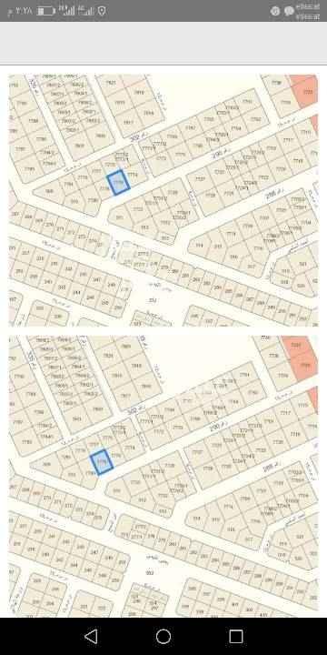 1614761 للبيع قطعتين متاجوره ملصقا في مخطط الضيحان في الجزء المرتفع  أطوال ممتازه  علي الشارع ٢٠في عمك ٢٦ الواحدة البيع ٢٢٠٠