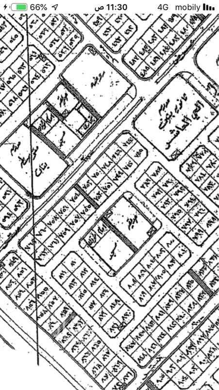 1454946 ضاحيه هجر الحي العاشر ٧٤٦ شارع ٣٠ مساحه ٦٢٥م  السعر ١٣٥ الف  1+
