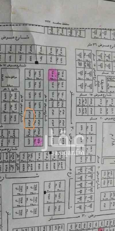 1363695 قطعة رقم ٥٦٤٥و٥٦٤٧  للبيع قطعتين ارض  في حي العارض غرب الملك عبدالعزيز  المساحة ١١٦٥م الاطوال ٤٦.٥٩×٢٥عمق  جنوبية شارع ١٥ حد البيع ١٦٠٠