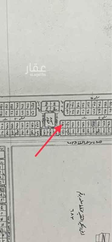 1505143 📌ارض رقم 282 بمخطط 868 ( التلفزيون )  📌 على شارعين 20 شمالي وممر 5وساحة مسجد غربي  🔵 (سيمت ب120 ألف ريال ولايوجد حد )🔵