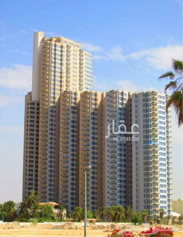 1405717 شقة ( برج المسارات) فاخرة بإطلالة مباشرة على البحر  مكونة من : 4 غرف + 3 دورات مياه + غرفة خادمة + مطبخ  المساحة : 300 م الدور : 12 الايجار السنوي : 160,000  للتواصل : 0555676600