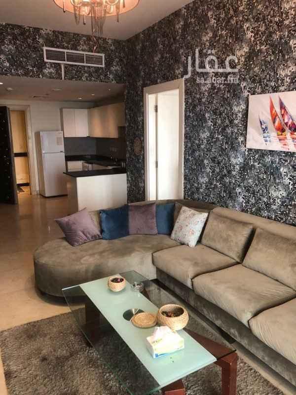 1434491 شقة فاخرة للايجار في برج (داماك ) مكونة من : غرفة + صالة + دورتين مياه الدور : 28  المساحة : 100م  الايجار السنوي : 130,000 للتواصل : 0555676600