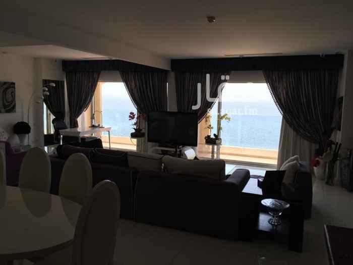1533163 شقة فاخرة ببرج (ديار البحر )بثلاث واجهات  غرفتين نوم + صالون كبير+ 3 دورات مياه + غرفة خادمة الدور: 14 المساحة : 200 م الايجار السنوي : 180,000 ريال