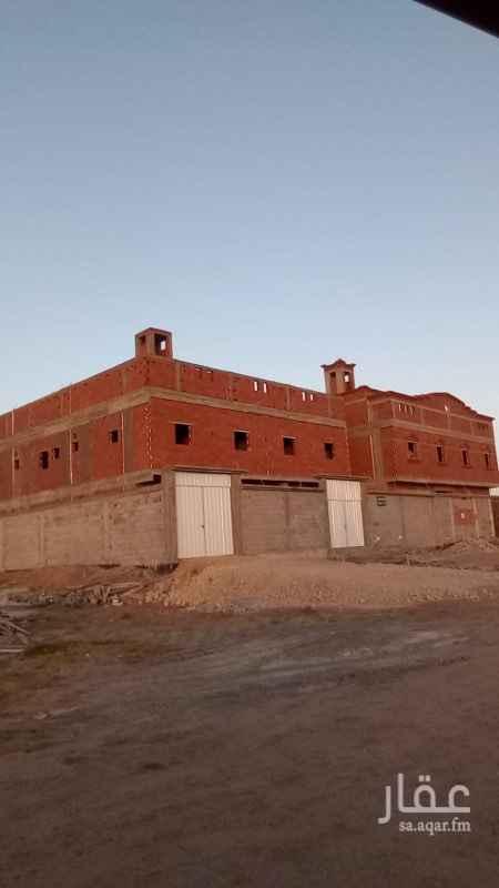 1432099 للبيع عمارة  مخطط الرياض  4 شقق من 5 غرف المساحة 625 شرق القظار  شمال مجر السيال المطلوب مليون كاش