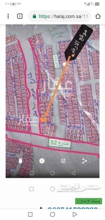 1602247 أرض تجاريه ركنيه بمخطط ولي العهد رقم 2 رقمها ٣٨٧٦ على شارع ٦٠ وشارع 15 وتبعد عن شارع ال52