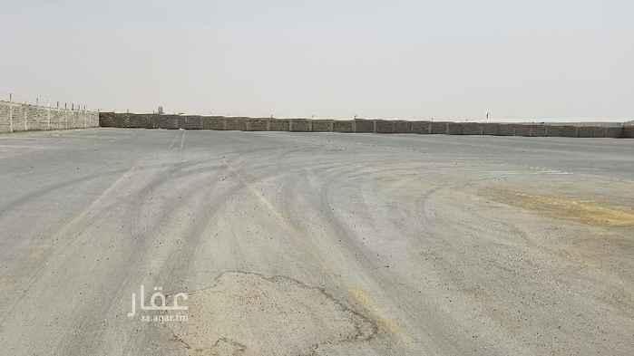 1733193 حوش للايجار مساحة ١١٥٠٠م ازفلت جديد نظيف مسور