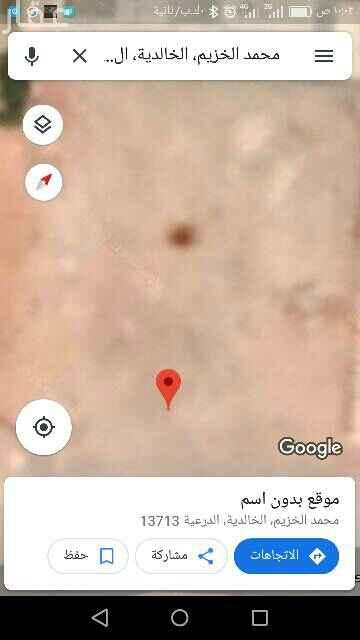 1712562 دبوس مثبّت بالقرب من الخالدية، الدرعية 13713  https://goo.gl/maps/HF5iqZxh8gd7WhD69 للبيع قطعة ارض سكني  في حي العاصمة الدرعية  من ارق مناطق الرياض  مساحة ٦٨٠م  شارع ٢٠ شمالي  ٢٠ جنوبي  الاطوال ٣٢×٢١ البيع ٢٨٠٠ مباشر