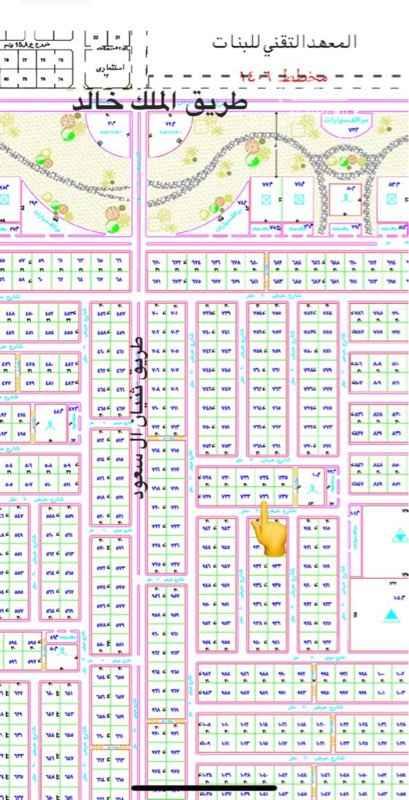 1780869 ارض مخطط النموذجي ١٦٩٢ الاتجاه غربيه شارع ٢٠  المستحه ٩٠٠ م