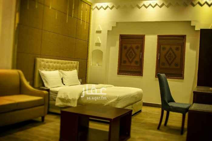 1814487 دانة الخليج للشقق الفندقية /بجوار اليخت للحفلات/ غرفة+صالة+حمام+مطبخ /
