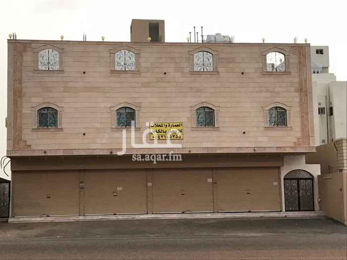 1380406 عمارة جديدة للايجار بالكامل سكني وتجاري في حي الراشدية ٢ المربع ١ على شارع الاربعين موقع مميز جدا جوار محطة الراشدية