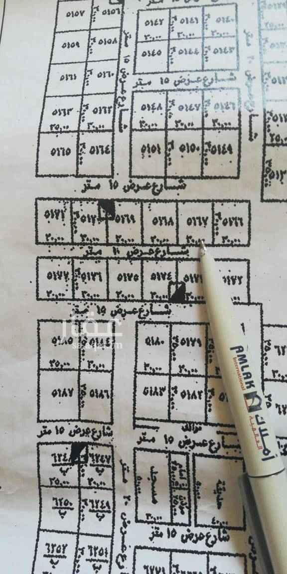 1706528 للبيع ارض سكنية حي النرجس شمال طريق الملك سلمان الكيلو السادس الشرقى شارعين ١٥شمال و١٠جنوب متظاهره الاطوال ١٥*٣٠ البيع حد