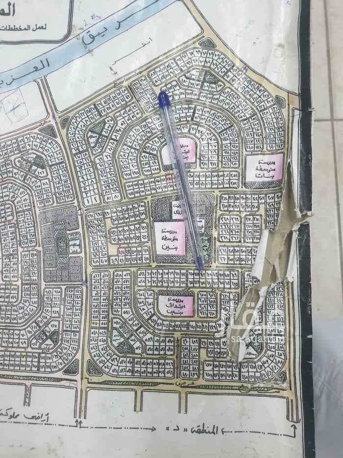 1813858 للبيع ارض بمخطط ٢٠٩ رقم القطعه ٦١٨  مساحه ٨٧٥م  حرف د  شارع ٢٠شرق سعر ٣٢٥ الف