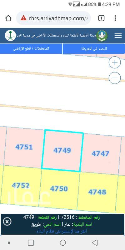1274051 ارض تجارية للإيجار طويل الأجل مساحة 900 م شارع 60 شمالي مسورة و يوجد عدد 2 مكتب استقبال و عداد كهرباء