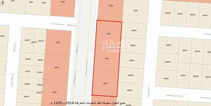 1562135 3 اراضي تجارية متجاورة للبيع كل قطعة مساحة 900 م  المساحة كاملة 2700 م شارع 30 غربي مخطط 2509