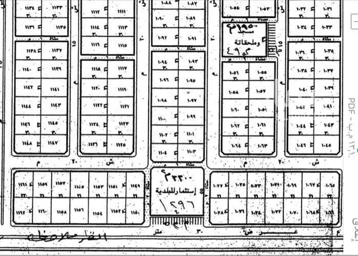 1675279 للبيع ارض سكنيه شرقيه مخطط 366 الرويضه شارع 15 السوم 26500 الف للاستفسار