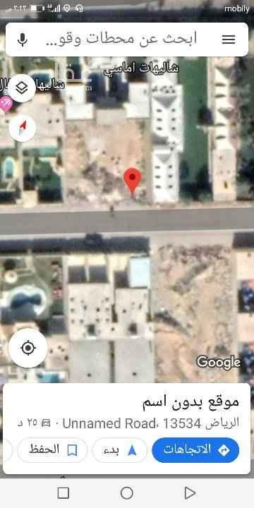 1648616 للبيع ارض في حي بدر ا مساحه 325 جنوبي شارع ١٥متر الاطوال 13 في 25 عمق السعر 2300 الضريبة من المالك مباشر