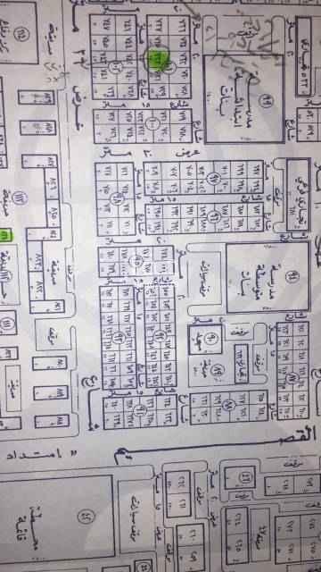 1662814 للبيع أرض سكنية في حي القيروان مخطط بدر ب الأطوال 25 في عمق 30 سوم 2170 البيع ع شور ٢٢٠٠ غير شامل الضريبةالمساحة ٧٥٠ متر