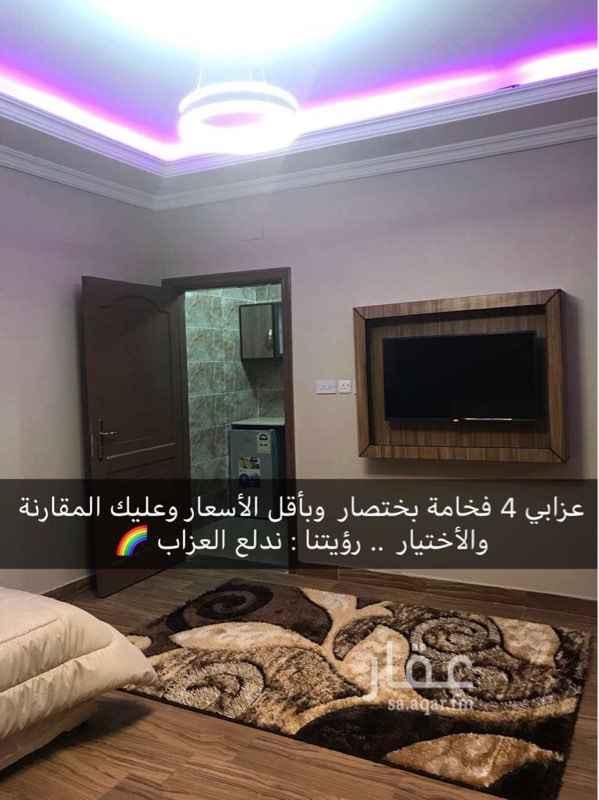 954528 📌الموقع : طريق الامير مقرن بن عبدالعزيز، المبعوث، المدينة المنورة 42362 https://goo.gl/maps/owEgTZrgeNN2 📌الوصف : يتكون كل جناح غرفة نوم لشخص واحد + مطبخ مجهز + دورة مياة مستقلة  📌المميزات : فرش فندقي فاخر - شاشة مسطحة 40 بوصة + قنوات متعددة - اضاءة مختلفة يمكن التحكم بها - ماء وكهرباء مجاناً  📌الثمن : 1300 ريال شهرياً  ☎️للحجز والأستفسار 0543889333 -   🌈شركة حلول للخدمات العقارية