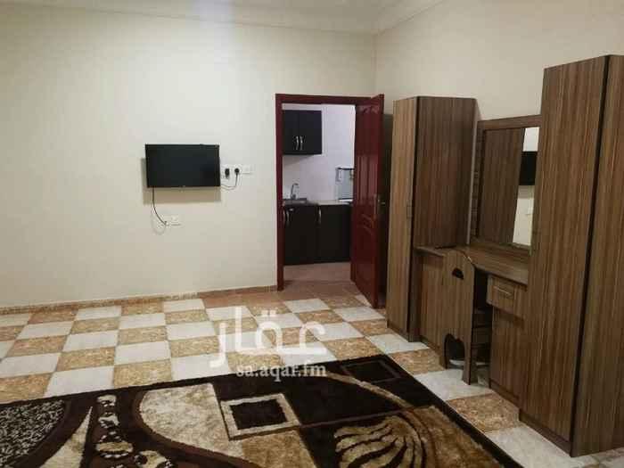 1131046 غرفة مع صالة و مطبخ و دورة مياه  السعر شامل الكهرباء والماء و الأنترنت  للتواصل : 0543889333 - 0503300006