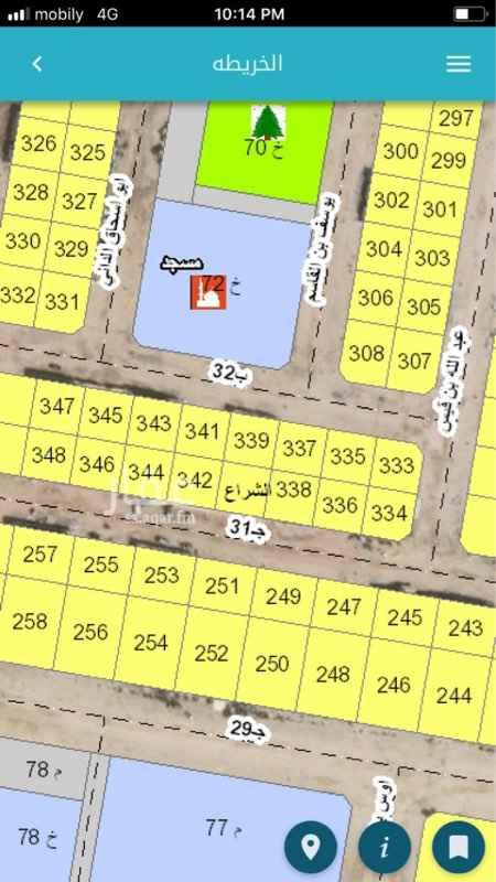 1509369 🚩🚩للبيع  مخطط ٩٢/٢ ٢٥١ ب ٢٠ شمال ٥٠٠ متر  البيع ٤٦٥  الف  مباشر