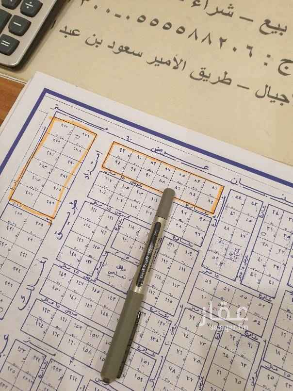1438359 للبيع بلك تجاري سكني اربعه شوارع علي السوم